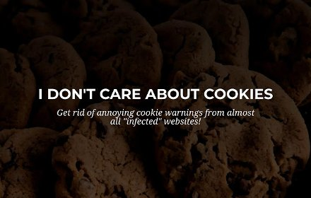 I don't care about cookies – 关闭cookie扩展!