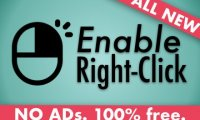 Enable Right Click and Copy – 破解右键锁